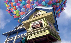 Carl Frederickson of the movie Up