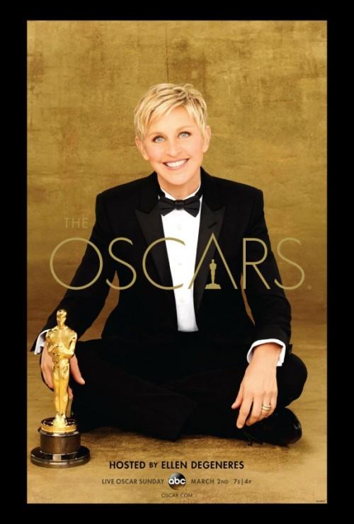 Ellen Degeneres hosts the 2014 Oscars.