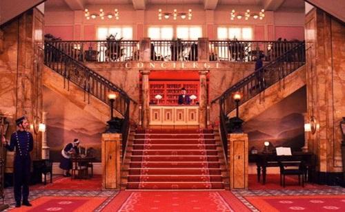 The Grand Budapest Hotel Lobby