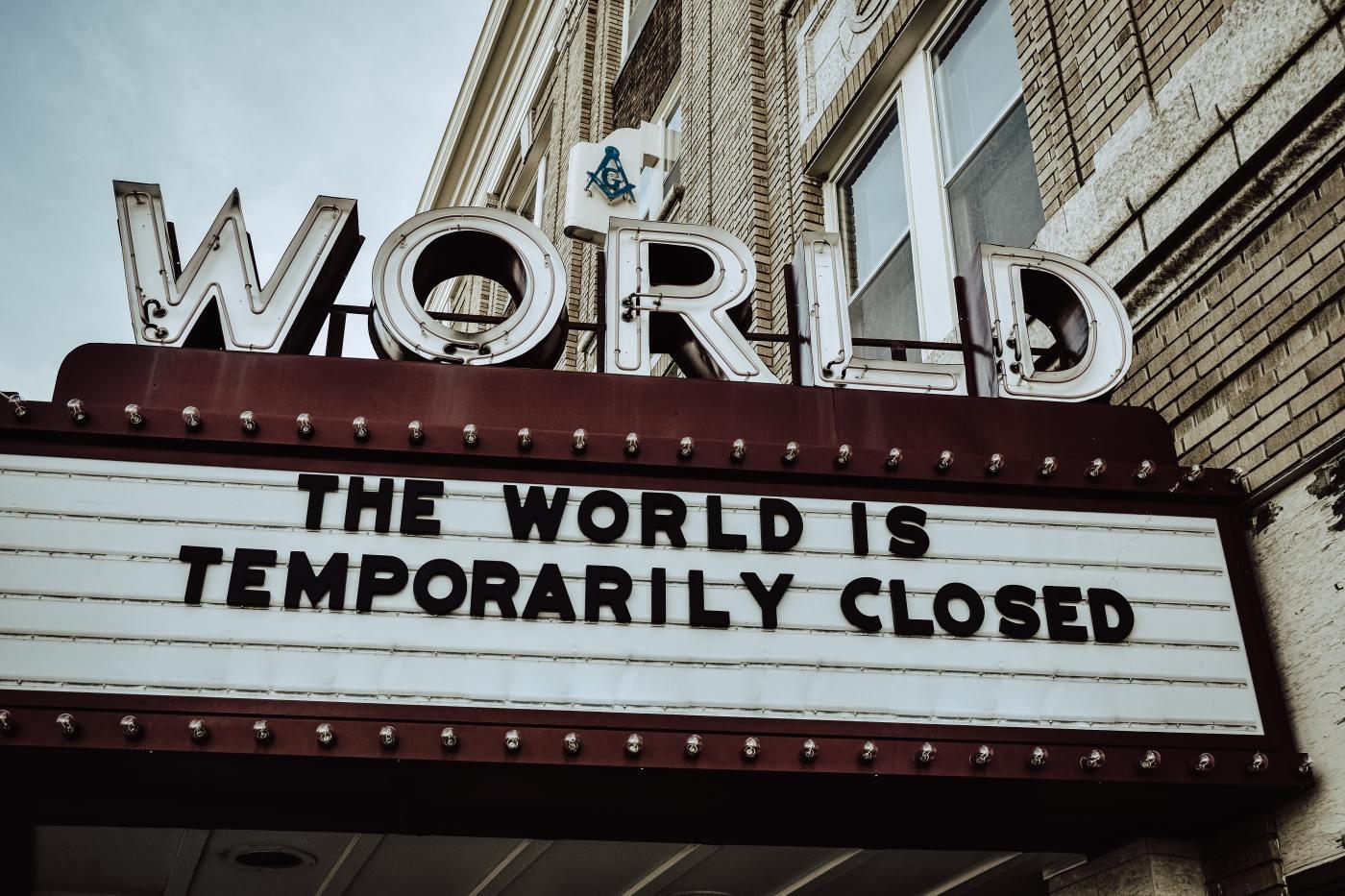 Cinema Marquee by Edwin Hooper via Unsplash