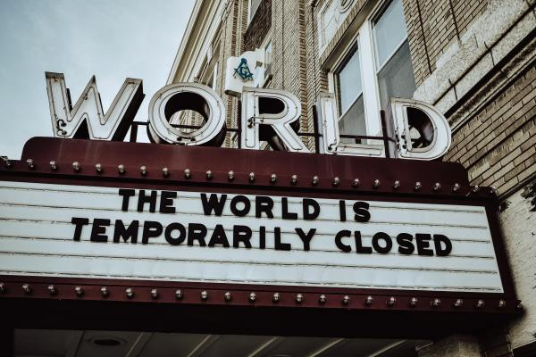 Cinema Marquee by Edwin Hooper via Unsplash