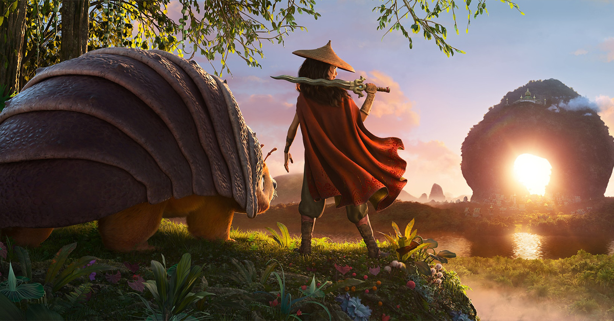 Raya and the Last Dragon courtesy Walt Disney Studios