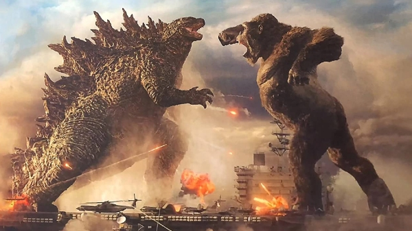 Godzilla v Kong, Courtesy Warner Brothers