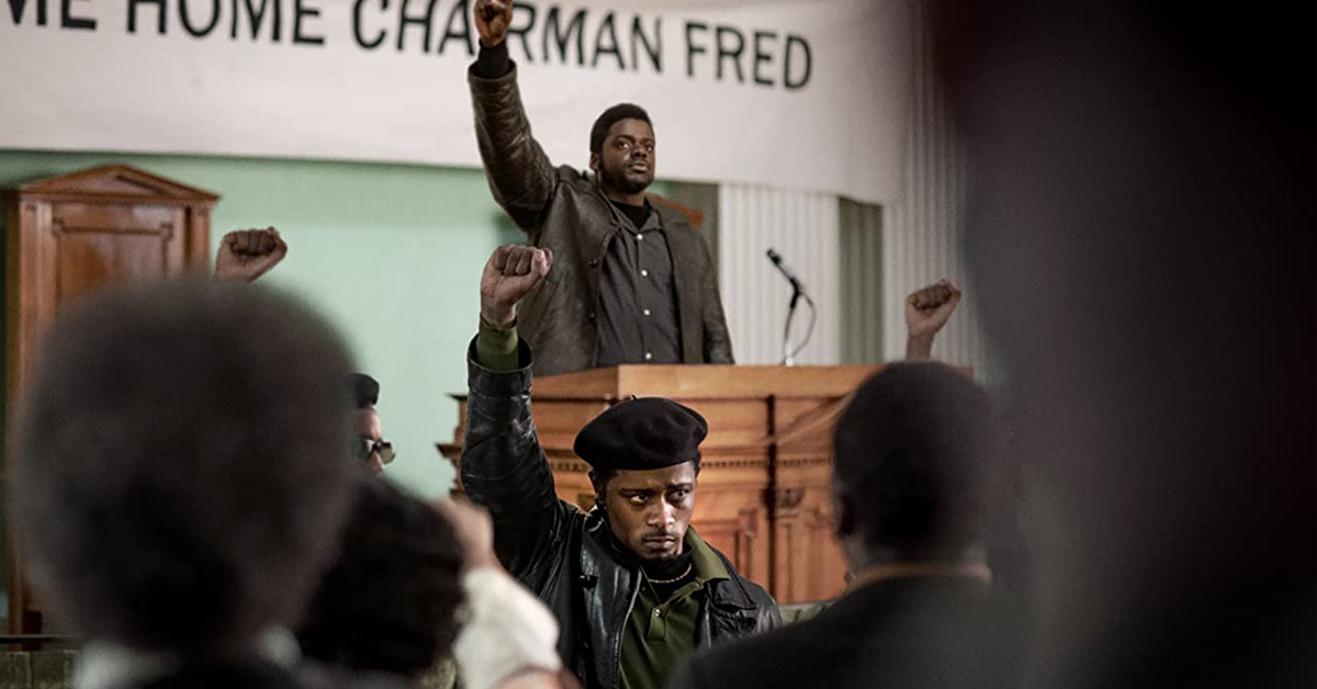 Daniel Kaluuya and Lakeith Stansfield in Judas and the Black Messiah, courtesy Warner Brothers