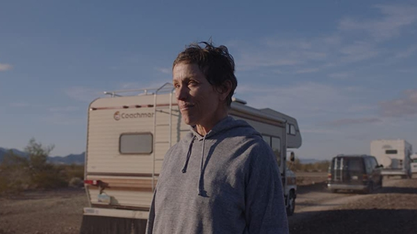 Frances McDormand in Nomadland, courtesy Searchlight Pictures