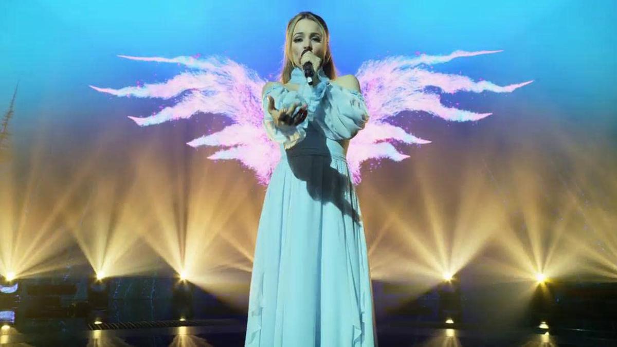 Rachel McAdams in Eurovision Song Contest: The Story of Fire Saga, courtesy Netflix