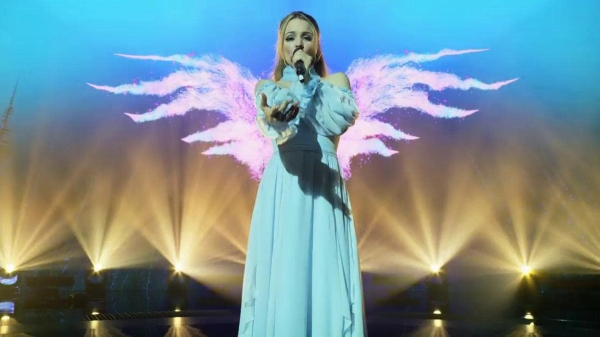 Rachel McAdams in Eurovision Song Contest: The Story of Fire Saga, courtesy Netflix