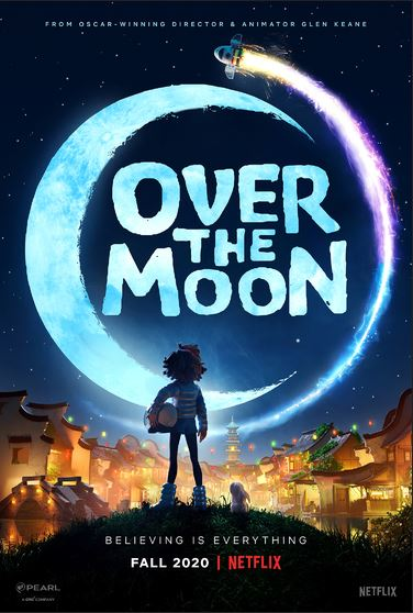 Over the Moon Poster, courtesy Netflix