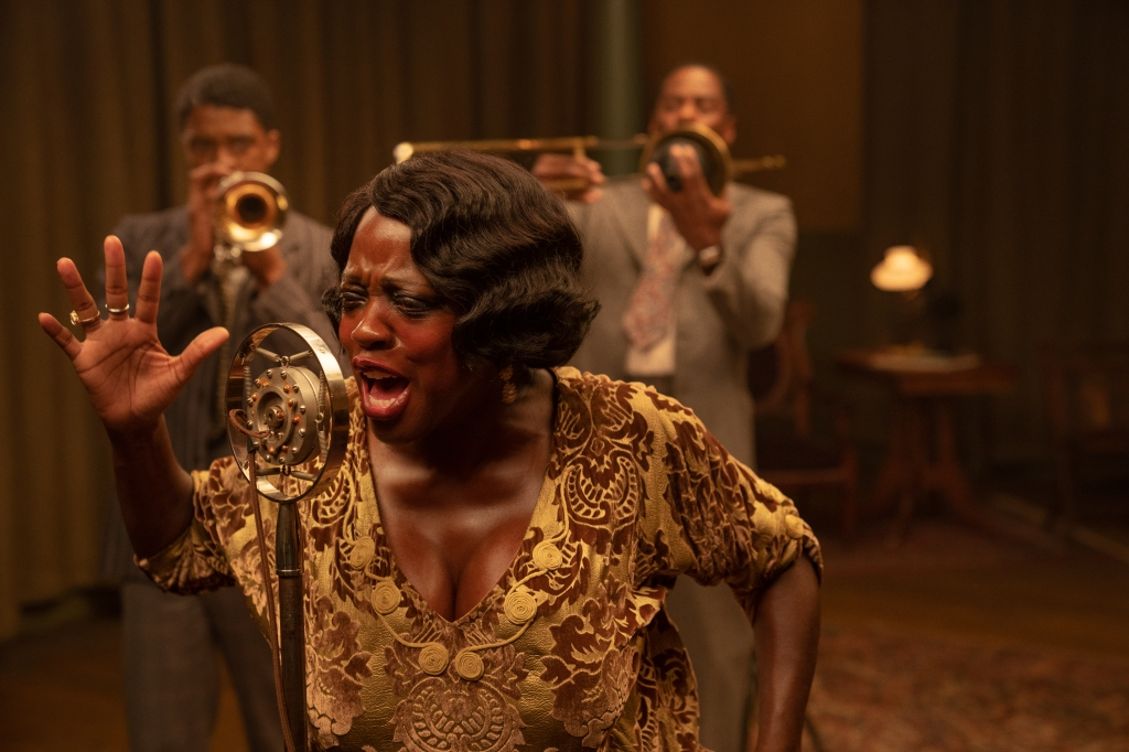 Viola Davis in Ma Rainey's Black Bottom, courtesy Netflix